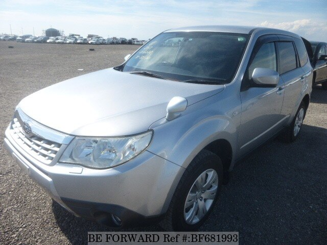 Used 2011 SUBARU FORESTER BF681993 For Sale Image ...