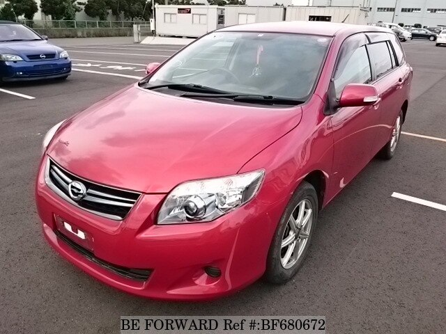 Used 2012 TOYOTA COROLLA FIELDER BF680672 for Sale