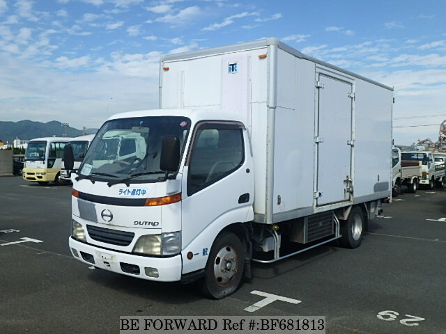 Used 2001 HINO DUTRO BF681813 for Sale