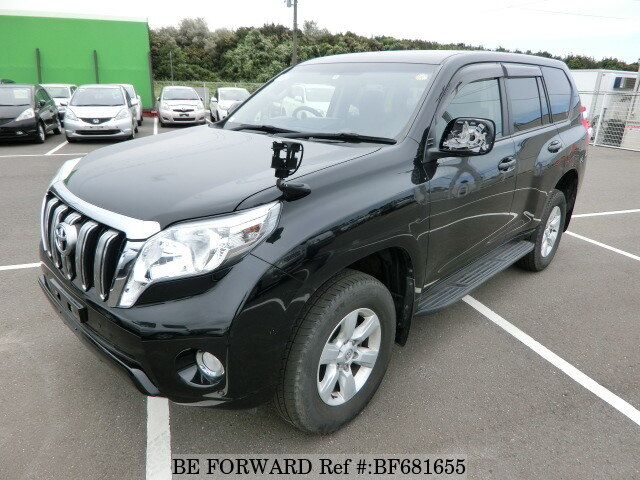 Used 2014 TOYOTA LAND CRUISER PRADO BF681655 for Sale
