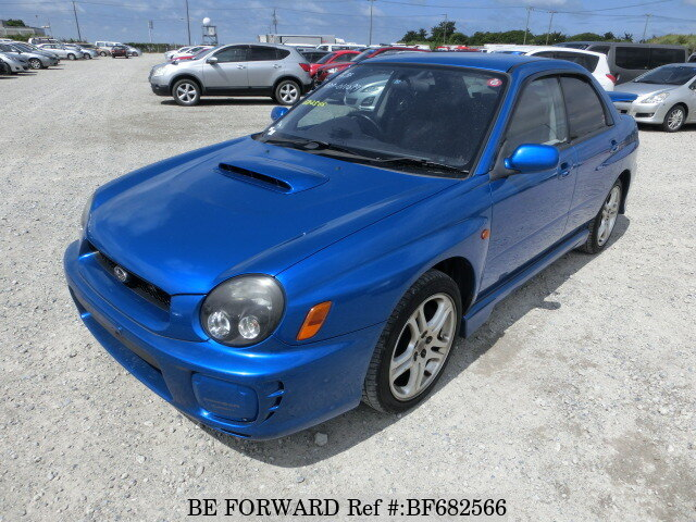 Used 2002 SUBARU IMPREZA WRX WRX NB-R/TA-GDA for Sale BF682566 - BE