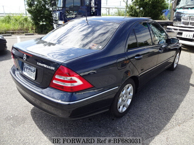 2004 mercedes benz c class c200 kompressor gh 203042 d. Black Bedroom Furniture Sets. Home Design Ideas