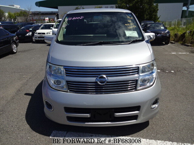 Used 2008 NISSAN ELGRAND 250 HIGHWAY STAR LEATHER ED/CBA-ME51 for