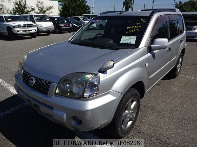 Used 2004 NISSAN X-TRAIL GT TURBO/GH-PNT30 for Sale BF682981 - BE