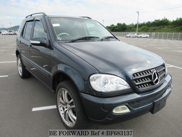 Used 2002 mercedes benz m class kh 163113 for sale for Mercedes benz suv 2002