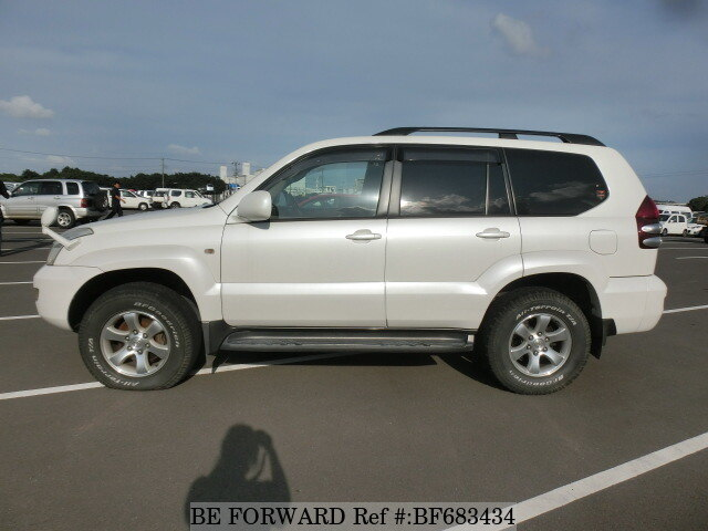 2006 toyota land cruiser prado tx limited cba grj120w d 39 occasion en promotion bf683434 be forward. Black Bedroom Furniture Sets. Home Design Ideas