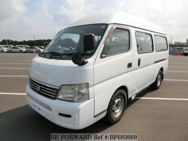 Used 2003 NISSAN CARAVAN BUS BF683669 for Sale