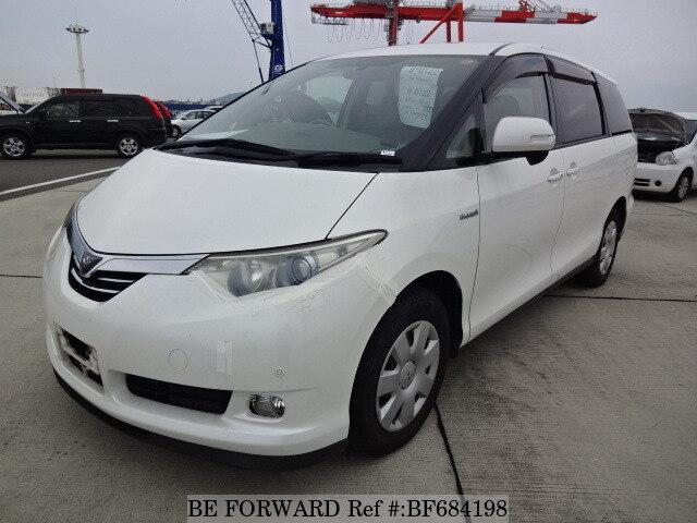 used 2007 toyota estima hybrid g daa ahr20w for sale bf684198 be rh beforward jp 1997 Toyota Previa Toyota Sienna