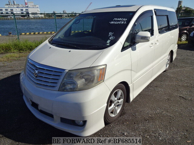Used 2004 TOYOTA ALPHARD BF685514 for Sale