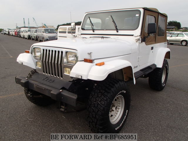Used 1995 JEEP WRANGLER BF685951 For Sale