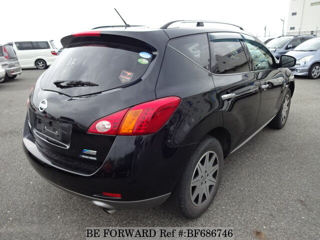 used 2010 nissan murano 250xv cba tz51 for sale bf686746 be forward. Black Bedroom Furniture Sets. Home Design Ideas