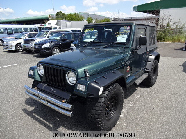 Used 2000 JEEP WRANGLER BF686793 For Sale