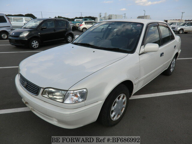 used 2000 toyota corolla sedan xe saloon gf ae110 for. Black Bedroom Furniture Sets. Home Design Ideas