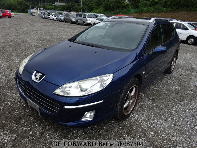 Used 2006 PEUGEOT 407 BF687504 for Sale