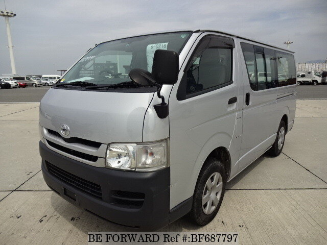 Used 2009 TOYOTA HIACE VAN DX/ADF-KDH206V for Sale BF687797