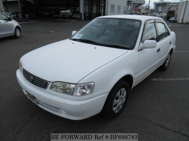 used 2000 toyota corolla sedan xe saloon limited gf ae110 for sale rh beforward jp 1998 Toyota Corolla Toyota Corolla AE100 Japan