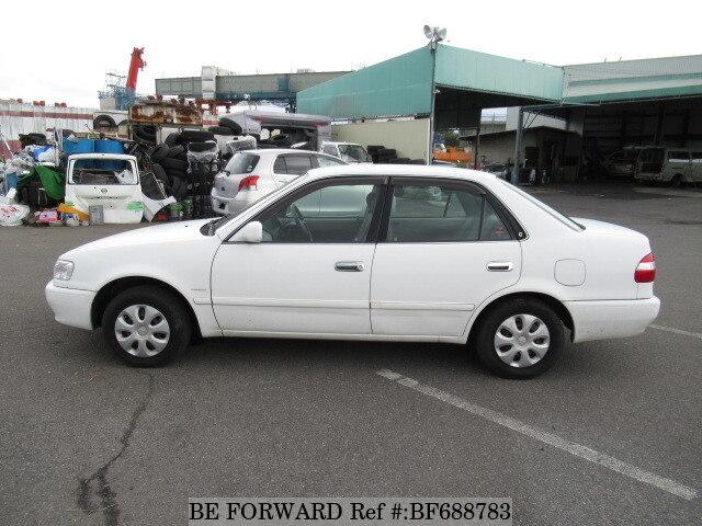 used 2000 toyota corolla sedan xe saloon limited gf ae110 for sale rh beforward jp Toyota Corolla AE100 Japan AE102 Corolla Toyota