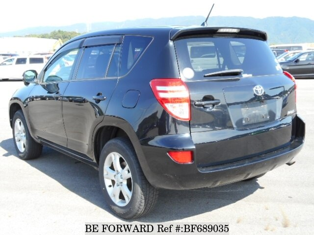 used 2009 toyota rav4 style dba aca31w for sale bf689035 be forward. Black Bedroom Furniture Sets. Home Design Ideas