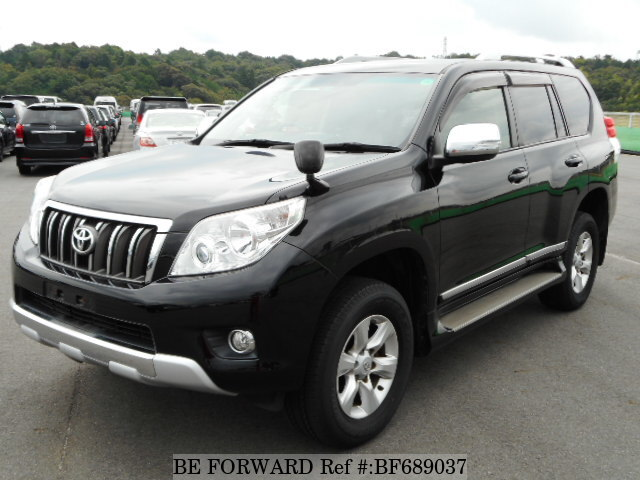 Used 2011 TOYOTA LAND CRUISER PRADO BF689037 for Sale
