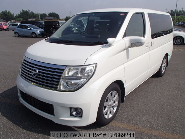 Used 2008 NISSAN ELGRAND 350X/CBA-E51 for Sale BF689244 - BE FORWARD