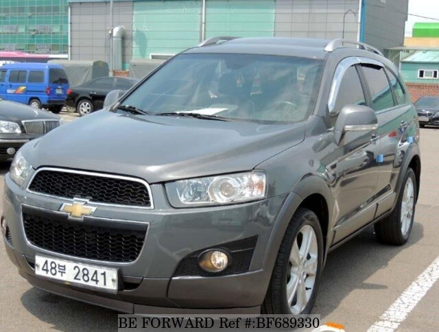 Used 2011 Chevrolet Captiva For Sale Bf689330 Be Forward