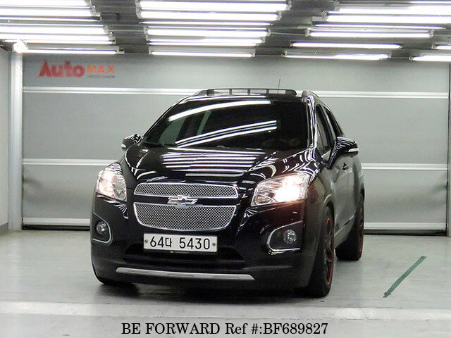 used 2013 chevrolet trax for sale bf689827 be forward. Black Bedroom Furniture Sets. Home Design Ideas