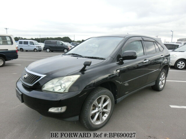 Used 2009 TOYOTA HARRIER BF690027 for Sale