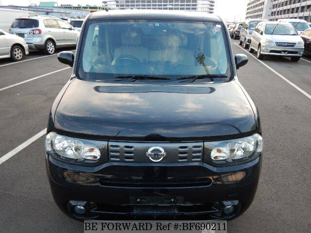 used 2010 nissan cube 15x dba z12 for sale bf690211 be forward. Black Bedroom Furniture Sets. Home Design Ideas