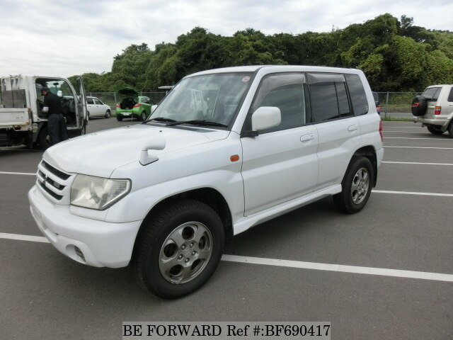Used 2000 MITSUBISHI PAJERO IO BF690417 for Sale