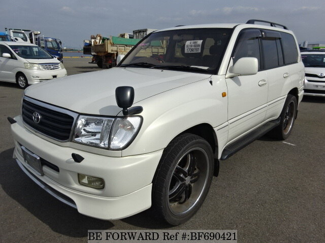 Used 1998 TOYOTA LAND CRUISER BF690421 for Sale