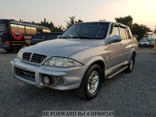 Used 2004 SSANGYONG MUSSO BF690743 for Sale