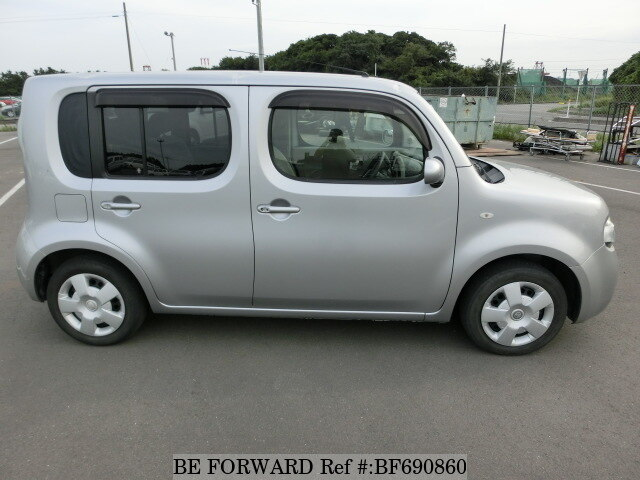 2008 nissan cube 15x dba z12 d 39 occasion bf690860 be forward. Black Bedroom Furniture Sets. Home Design Ideas