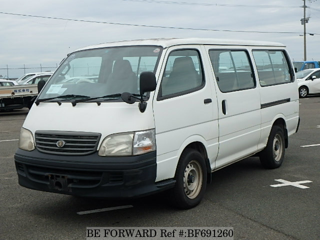 Used 2002 TOYOTA HIACE WAGON BF691260 for Sale