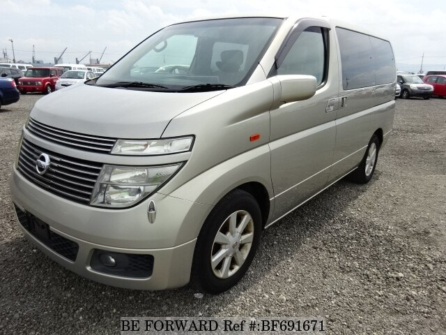 used 2002 nissan elgrand x ua e51 for sale bf691671 be forward rh beforward jp
