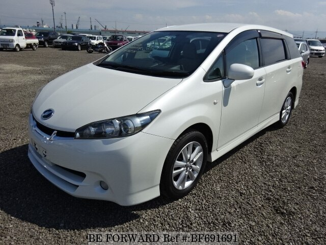 Used 2010 TOYOTA WISH 1 8S/DBA-ZGE20W for Sale BF691691 - BE