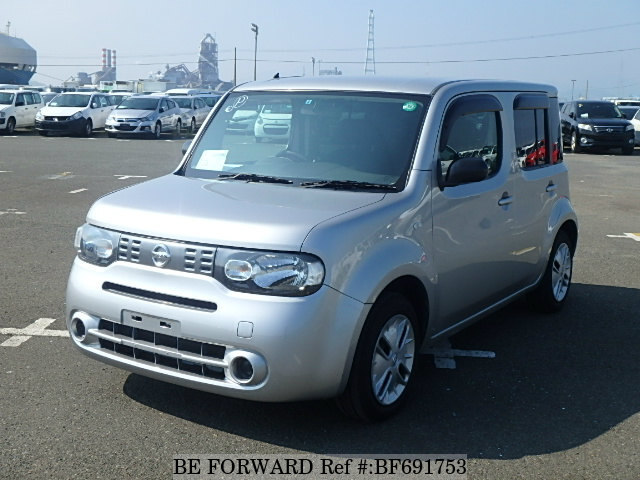 used 2012 nissan cube 15s dba z12 for sale bf691753 be forward. Black Bedroom Furniture Sets. Home Design Ideas