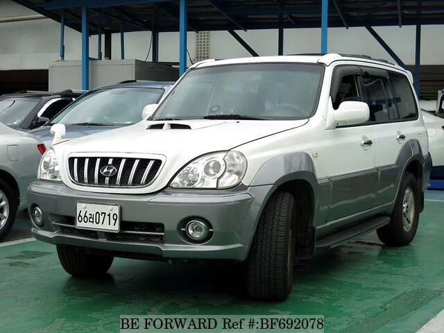 Used 2002 Hyundai Terracan Bf692078 For