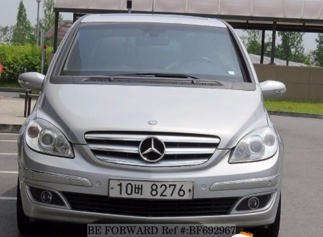 Used 2007 Mercedes Benz B Class For Sale Bf692967 Be Forward