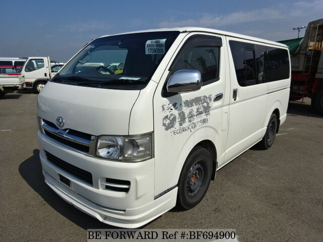 Used 2004 TOYOTA HIACE VAN BF694900 for Sale