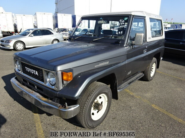 Used 1988 TOYOTA LAND CRUISER BF695365 For Sale