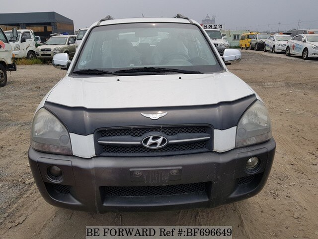 Used 2006 Hyundai Tucson Mx For Sale Bf696649 Be Forward