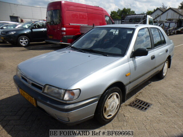 Used 1991 NISSAN SUNNY for Sale BF696663 - BE FORWARD