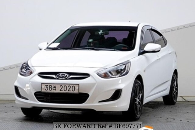 Used 2011 Hyundai Accent For Sale Bf697771 Be Forward
