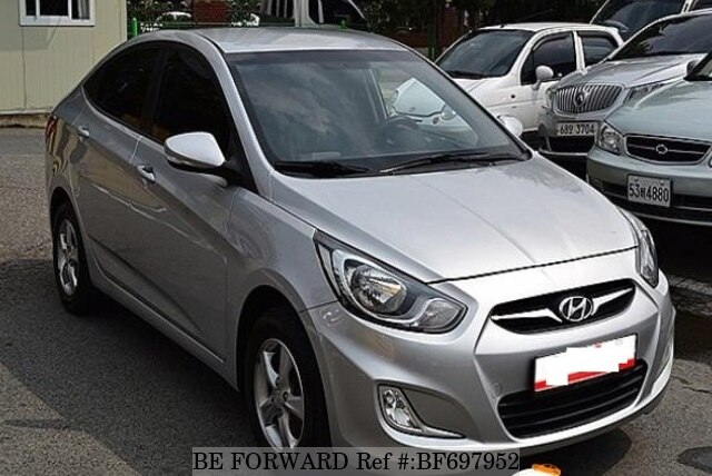 Used 2011 Hyundai Accent For Sale Bf697952 Be Forward
