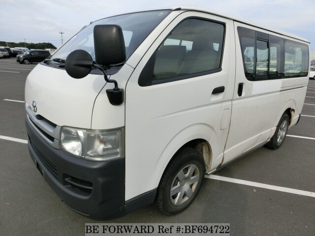 Used 2007 TOYOTA HIACE VAN BF694722 for Sale