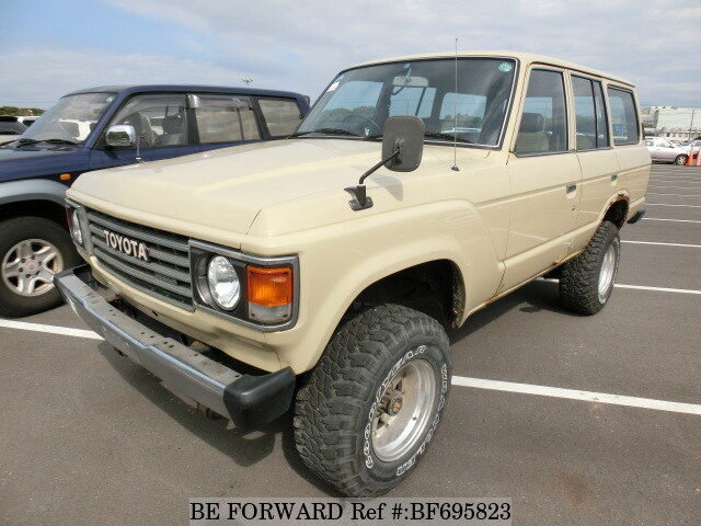 Used 1982 TOYOTA LAND CRUISER BF695823 For Sale