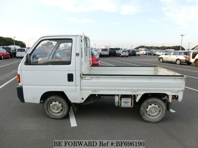 used 1991 honda acty truck m ha4 for sale bf696190 be forward. Black Bedroom Furniture Sets. Home Design Ideas