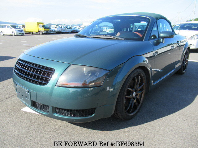 Used 2001 AUDI TT ROADSTER 1.8T QUATTRO/GF-8NAPXF for Sale BF698554