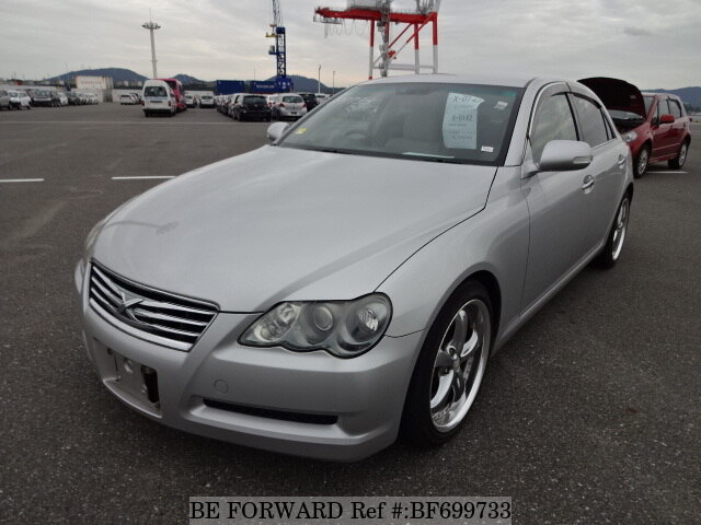 Used 2007 TOYOTA MARK X BF699733 for Sale