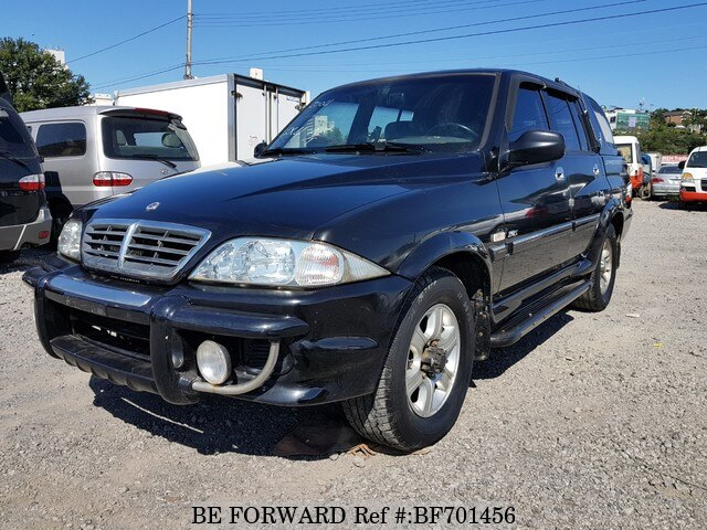 Used 2004 SSANGYONG MUSSO BF701456 for Sale